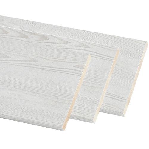 Kit de 3 molduras mdf blanco 30 x 10 mm