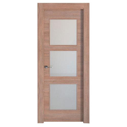 Puerta berna nogal de apertura derecha de 72.5 cm