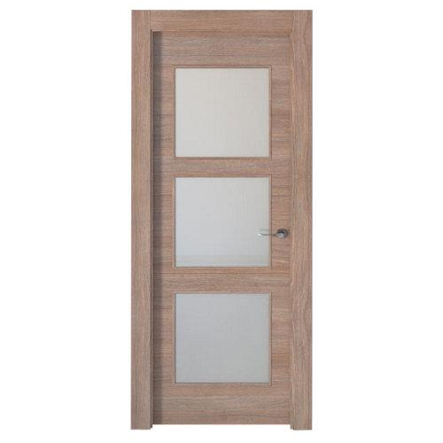Puerta berna nogal de apertura izquierda de 72.5 cm