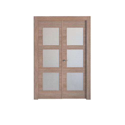 puerta berna nogal de apertura derecha de 125 cm