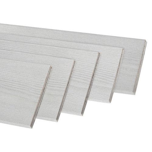 Kit de 5 jambas de mdf blanco veta 70 x 10 mm