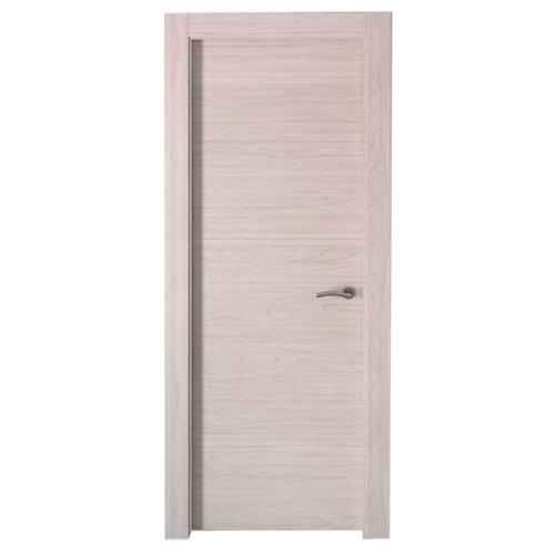 puerta berna olmo claro de apertura izquierda de 72.5 cm