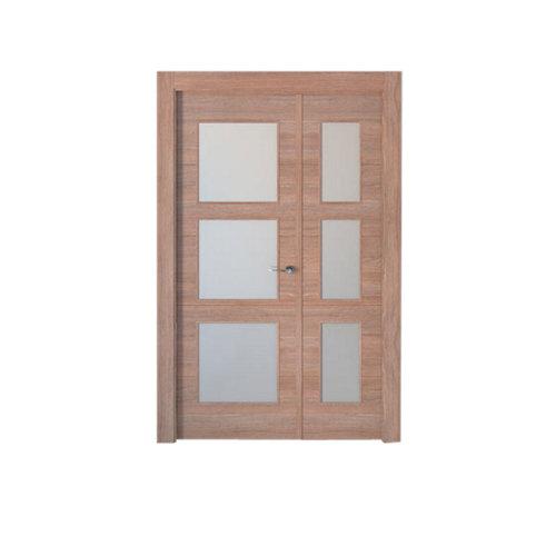 puerta berna nogal de apertura izquierda de 115 cm