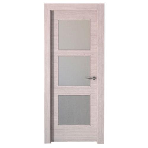 puerta berna olmo claro de apertura izquierda de 82.5 cm