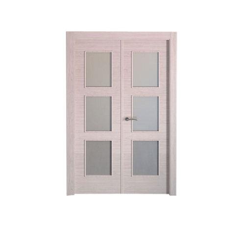 puerta berna olmo claro de apertura derecha de 125 cm