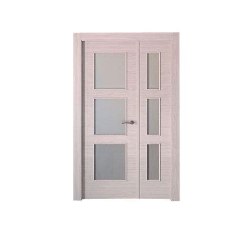 puerta berna olmo claro de apertura izquierda de 115 cm