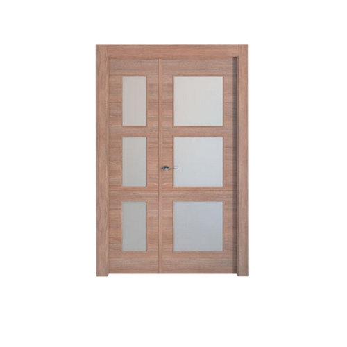 puerta berna nogal de apertura derecha de 105 cm
