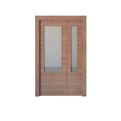 puerta oslo nogal de apertura izquierda de 105 cm