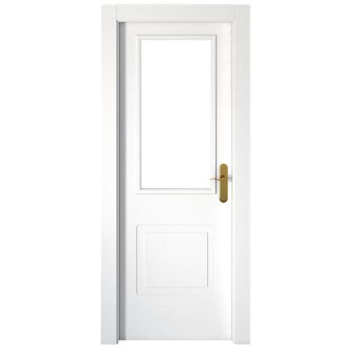 puerta bayona blanco de apertura izquierda de 82.5 cm