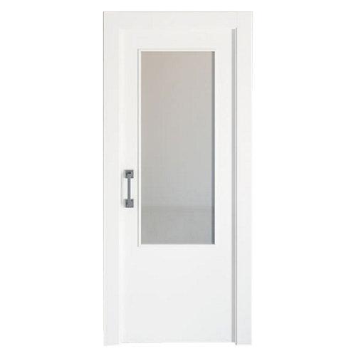 Puerta de interior corredera bari blanco de 72.5 cm