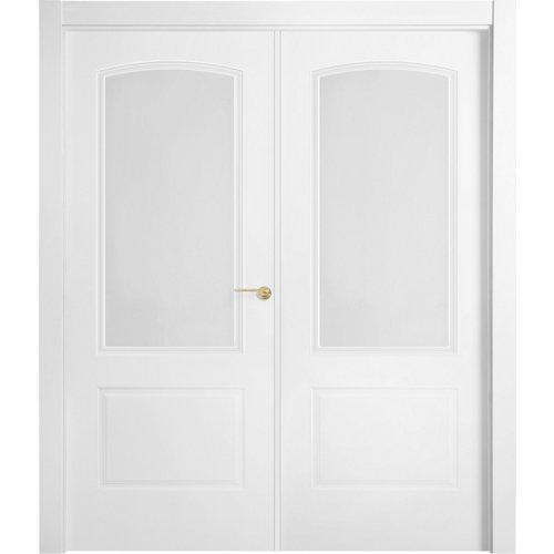 puerta berlin blanco de apertura derecha de 145 cm