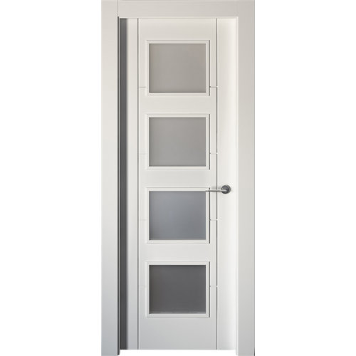 puerta noruega plus blanco de apertura izquierda de 82.5 cm