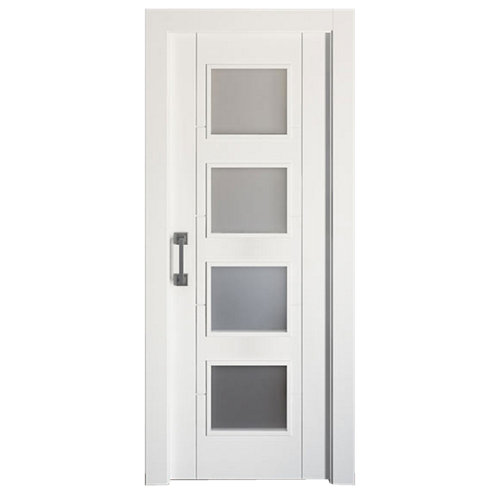 Puerta de interior corredera noruega plus blanco de 92.5 cm