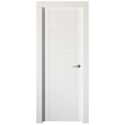 puerta noruega plus blanco de apertura izquierda de 62.5 cm
