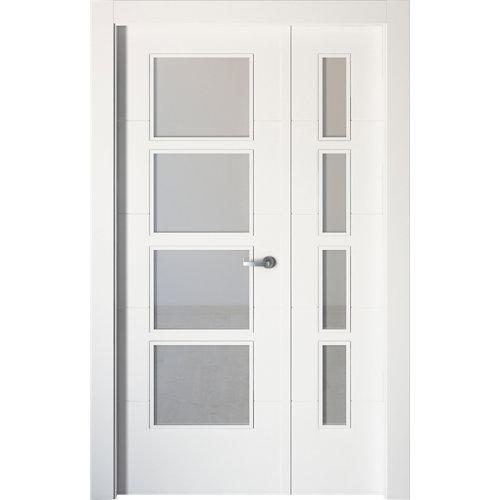 puerta lucerna plus blanco de apertura izquierda de 105 cm