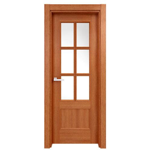 puerta atenas sapelly de apertura izquierda de 82.5 cm