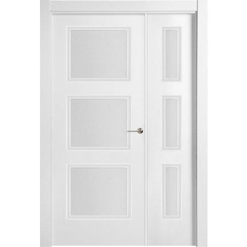 puerta mónaco blanco de apertura izquierda de 105 cm