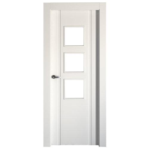 puerta turquía blanco de apertura derecha de 72.5 cm