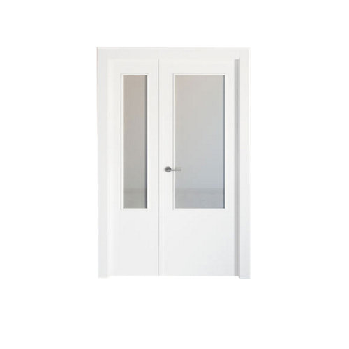 puerta bari blanco de apertura derecha de 115 cm