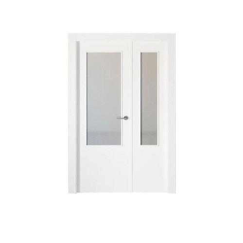 puerta bari blanco de apertura izquierda de 125 cm