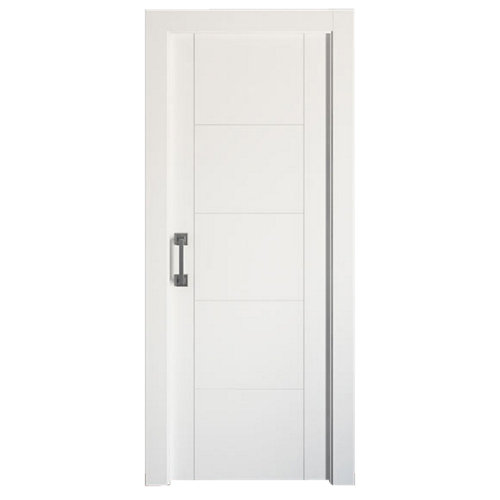 Puerta de interior corredera noruega plus blanco de 72.5 cm