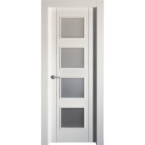 puerta noruega plus blanco de apertura derecha de 72.5 cm