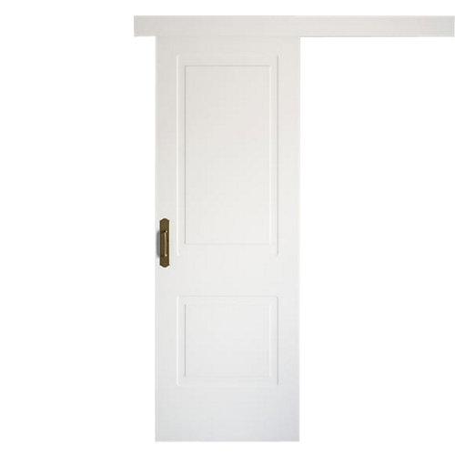 Puerta de interior corredera bayona blanco de 62.5 cm