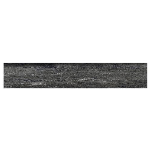 Rodapié recto gris 45 cm de largo
