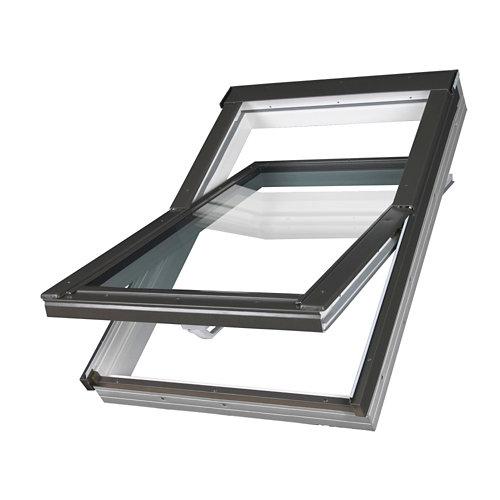 Ventana de techo pivotante manual de 114x140 cm