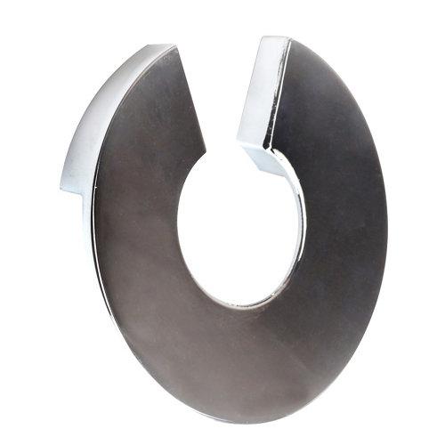 Tirador de mueble de zamak cromado 30x20 mm