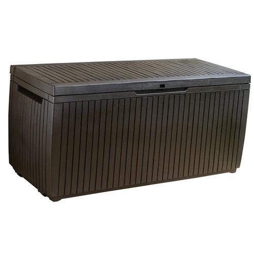 Arcón de exterior de resina 17202378 123x57x53.5 cm