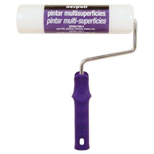 Rodillo de espuma para multisuperficie de 22 cm