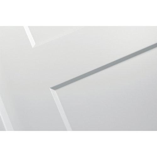 Puerta de interior corredera bosco blanco de 82.5 cm