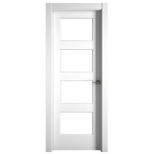 Puerta bosco blanco de apertura izquierda de 82.50 cm