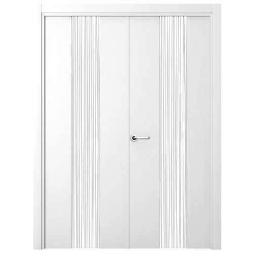 Puerta quevedo blanco de apertura derecha de 125.00 cm