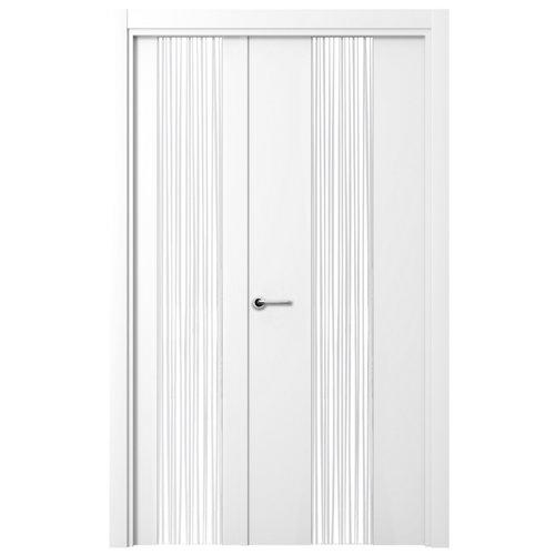 Puerta quevedo blanco de apertura derecha de 115.00 cm