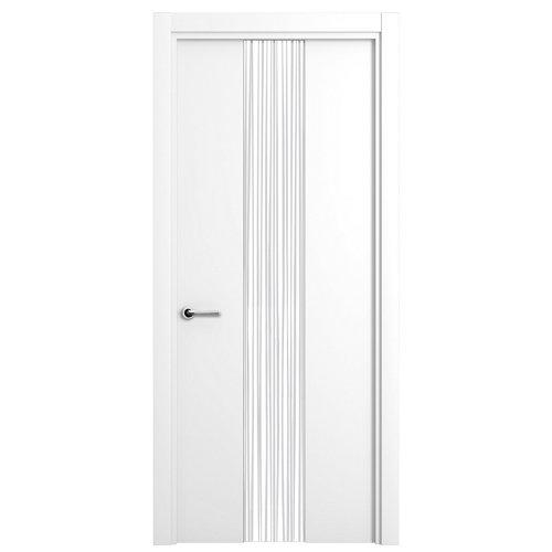 puerta quevedo blanco de apertura derecha de 82.5 cm