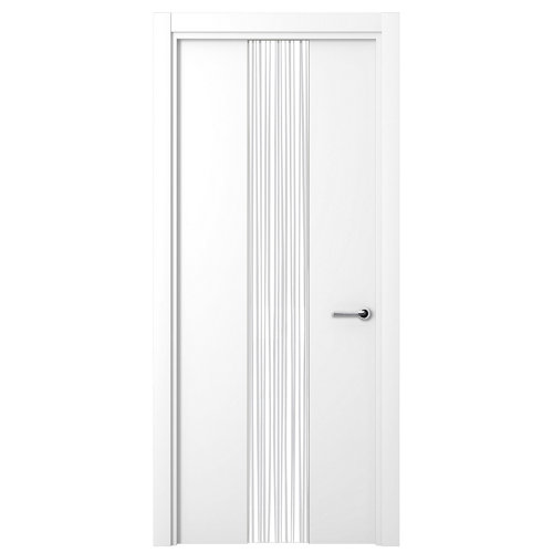 Puerta quevedo blanco de apertura izquierda de 82.50 cm