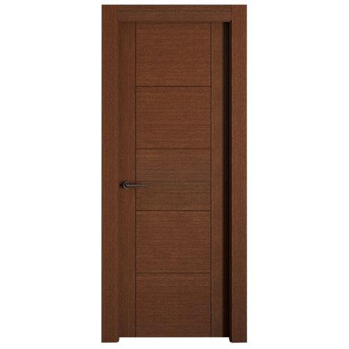 puerta noruega wengué de apertura derecha de 72.5 cm
