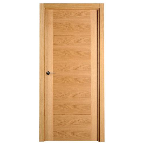 Puerta noruega roble de apertura derecha de 72.5 cm