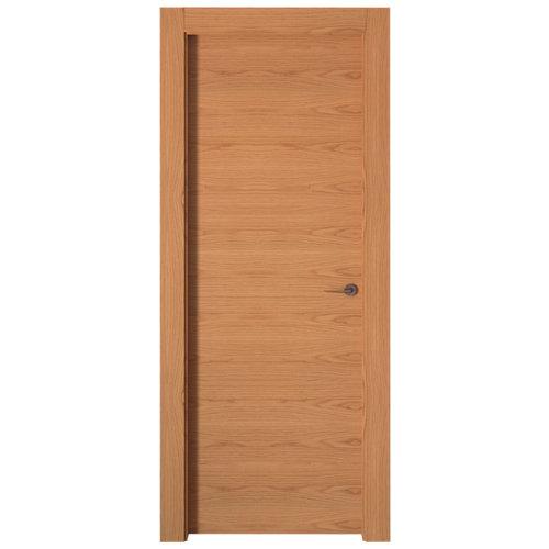 puerta viena roble de apertura izquierda de 72.5 cm