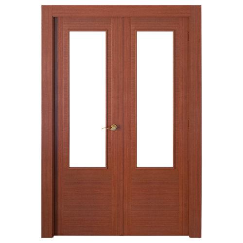 puerta niza sapelly de apertura izquierda de 145 cm