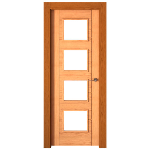 Puerta noruega roble de apertura izquierda de 72.5 cm