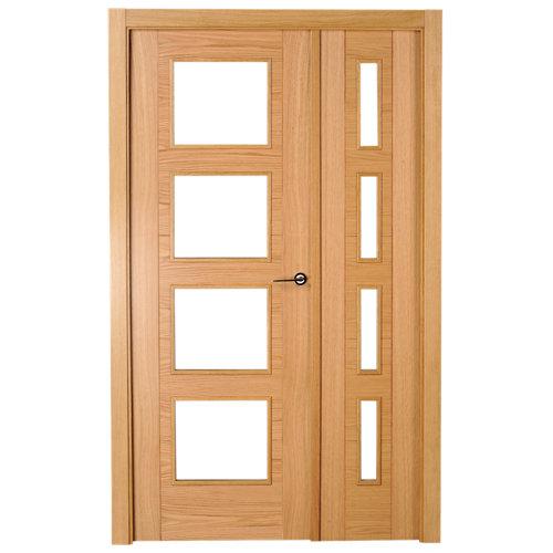 puerta noruega roble de apertura izquierda de 105 cm
