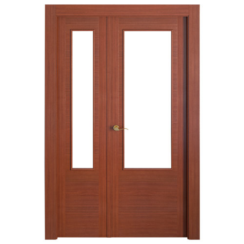puerta niza sapelly de apertura derecha de 115 cm