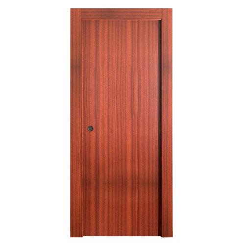 Puerta de interior corredera lisboa sapelly de 72.5 cm