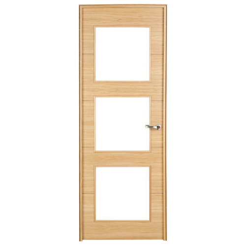 puerta viena roble de apertura derecha de 72.5 cm