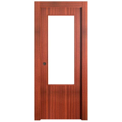 Puerta de interior corredera lisboa sapelly de 62.5 cm