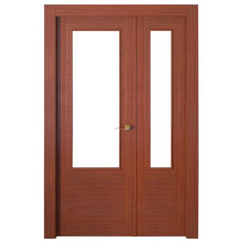 puerta niza sapelly de apertura izquierda de 115 cm