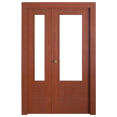 puerta niza sapelly de apertura derecha de 105 cm